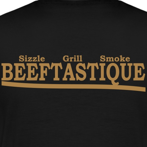 Beeftastique-schrift - Männer Premium T-Shirt