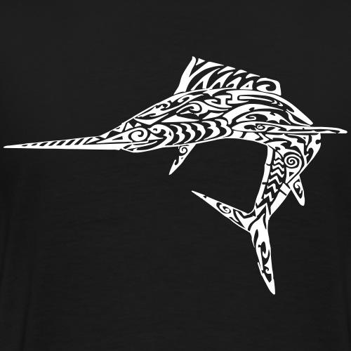 The White Marlin - Men's Premium T-Shirt
