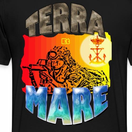 PER TERRA ET MARE - Camiseta premium hombre