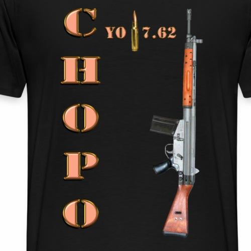 CHOPO 7 62 - Camiseta premium hombre