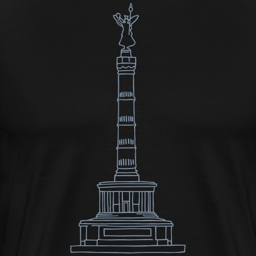 Siegessäule Berlin - Männer Premium T-Shirt