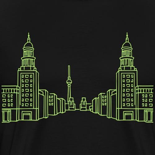 Frankfurter Tor Berlin - Männer Premium T-Shirt