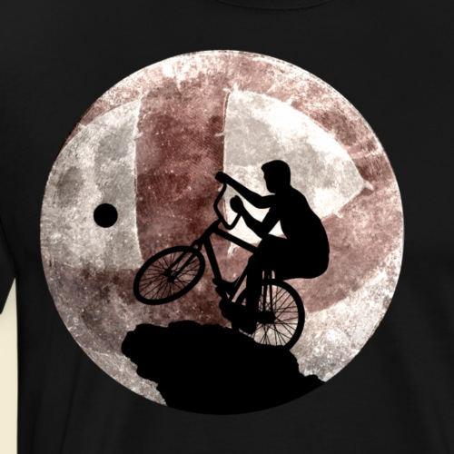 Radball | Cycle Ball Moon - Männer Premium T-Shirt