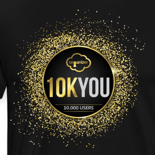 10k You! 10000 times thank you to ORGanusers! - Men's Premium T-Shirt