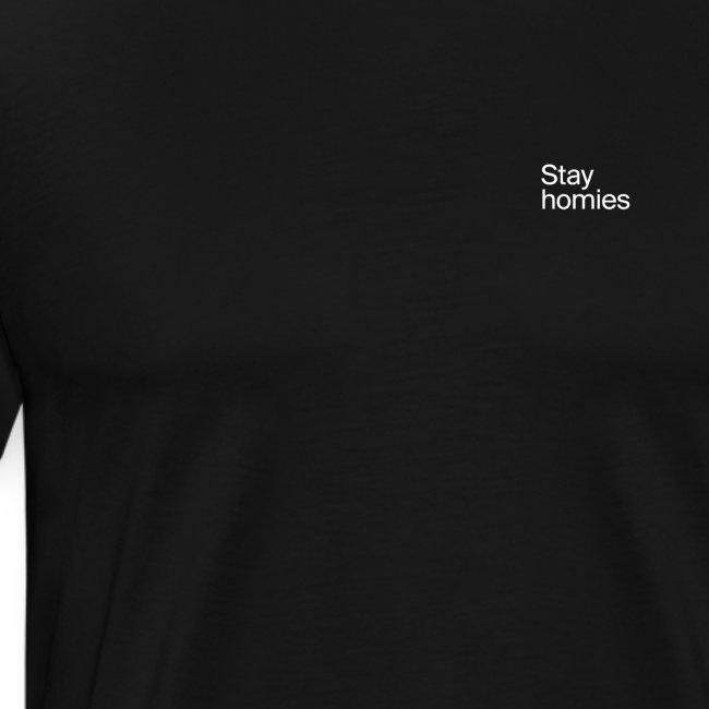 Stay homies Classic Tee Black