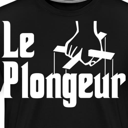 Le Plongeur Parodie Le Parrain - T-shirt Premium Homme