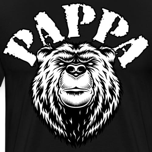 Pappa Björn - Premium-T-shirt herr
