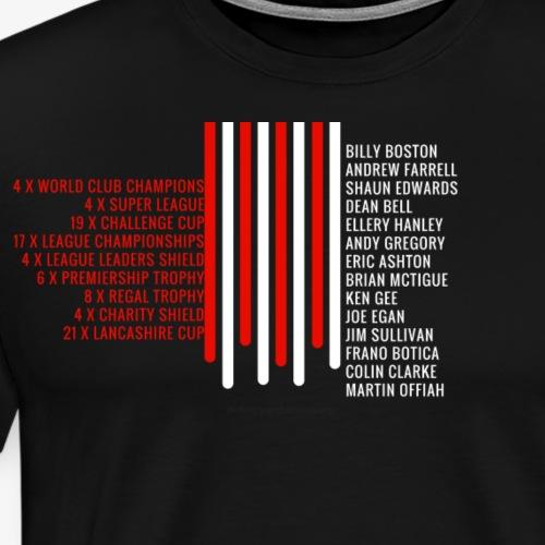 Bleed Cherry and White - Men's Premium T-Shirt
