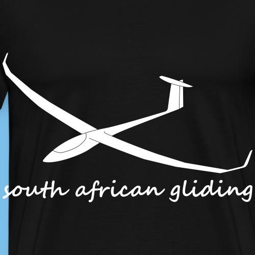 Südafrika Segelflugzeug Segelflieger gleiten JS3 - Männer Premium T-Shirt