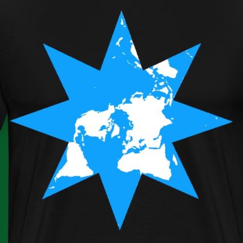 Achtstern Welt - Männer Premium T-Shirt