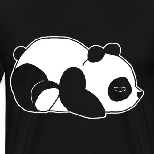 Panda, süß, Tier, Comic - Männer Premium T-Shirt