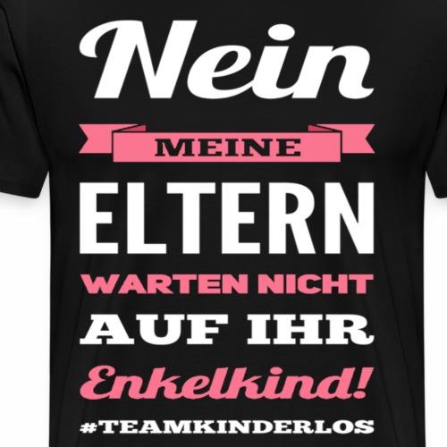 Kinderlos - Männer Premium T-Shirt