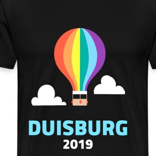 DUISBURG LGBT GLBT Lesben Transgender Bi Schwul - Männer Premium T-Shirt