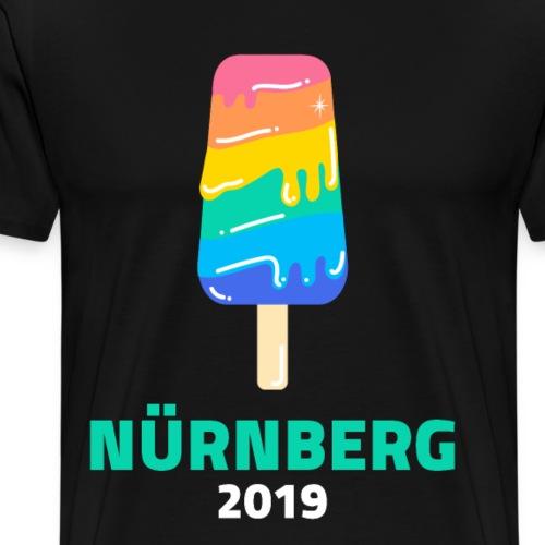 Nürnberg 2019 Lgbt Gay Lesben Transgender Schwul - Männer Premium T-Shirt