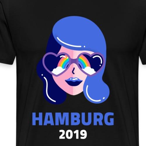 Hamburg Lgbt Gay Lesben Transgender Bi Schwul 2019 - Männer Premium T-Shirt