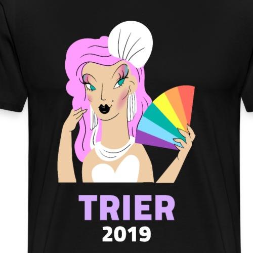 Trier Lgbt Gay Lesben Transgender Bi Schwul - Männer Premium T-Shirt