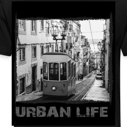 Lissabon - Urban Streetwear - Männer Premium T-Shirt