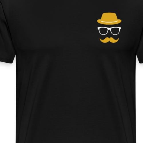 Mann Bart Logo - Männer Premium T-Shirt