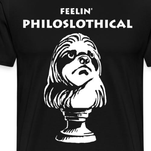 Philosphie Philosoph Faultier - Männer Premium T-Shirt
