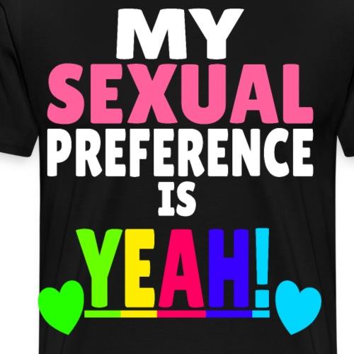 Sexualität Gay Pride Lesben Bi - Männer Premium T-Shirt