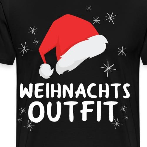 Weihnachtsmütze Weihnachten Weihnachtsoutfit - Männer Premium T-Shirt