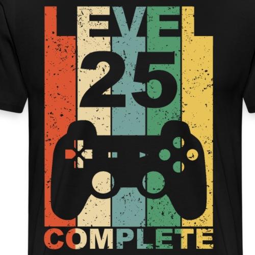 25. Geburtstag 25 Jahre Geburtstagsgeschenk Gamer - Männer Premium T-Shirt