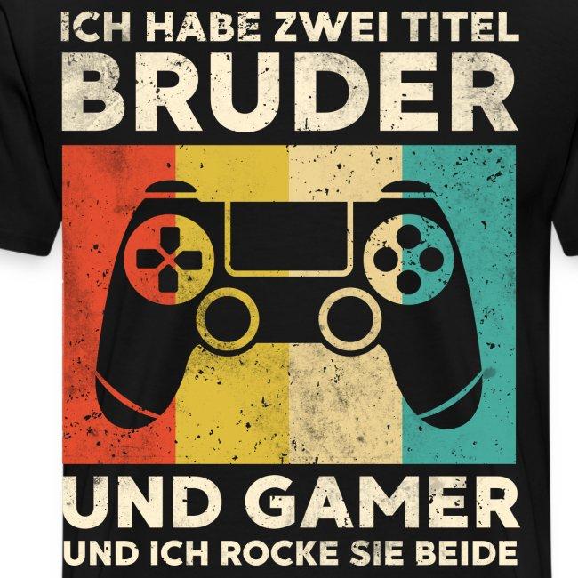 Bruder Gamer Gaming Junge Geschenk Sohn