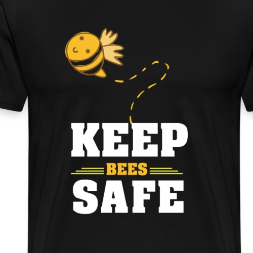 Rettet die Bienen - Männer Premium T-Shirt