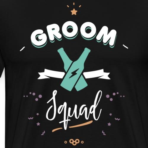 Groom squad - T-shirt Premium Homme