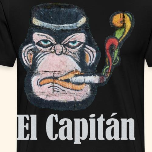 El Capitan Cooler Affe Anführer im Job Selbständig - Männer Premium T-Shirt