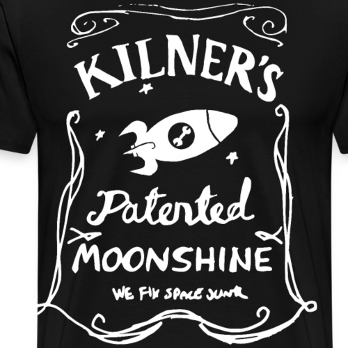 Kilner's Patented Moonshine (White) - Men's Premium T-Shirt