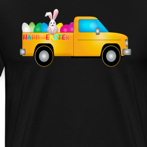 Fröhliche Ostern   Gute Geschenkidee - Männer Premium T-Shirt