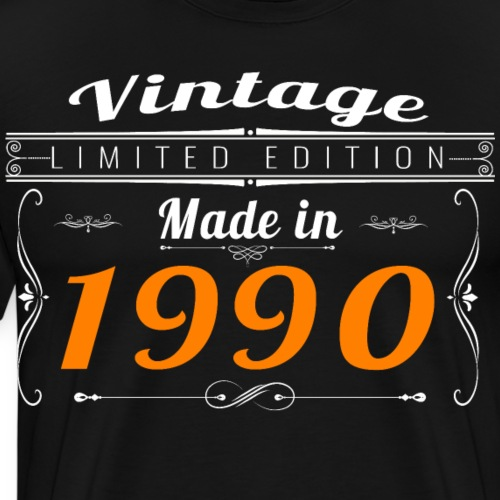 Vintage made in 1990 - T-shirt Premium Homme