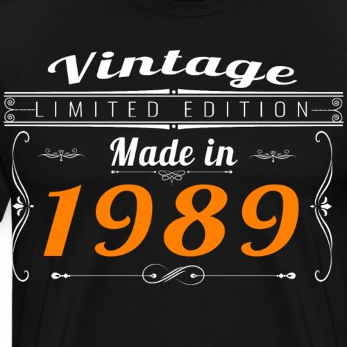 Vintage made in 1989 - T-shirt Premium Homme