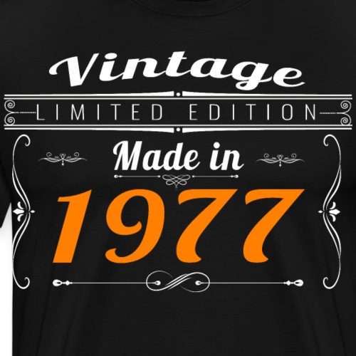 Vintage made in 1977 - T-shirt Premium Homme
