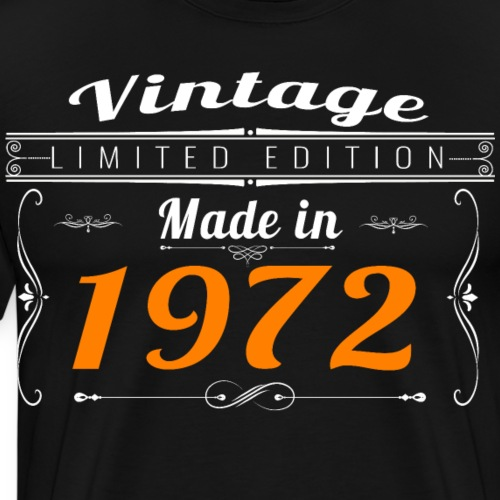 Vintage made in 1972 - T-shirt Premium Homme
