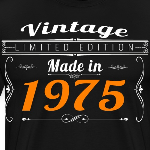 Vintage made in 1975 - T-shirt Premium Homme