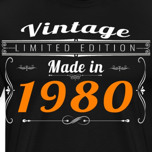 Vintage made in 1980 - T-shirt Premium Homme