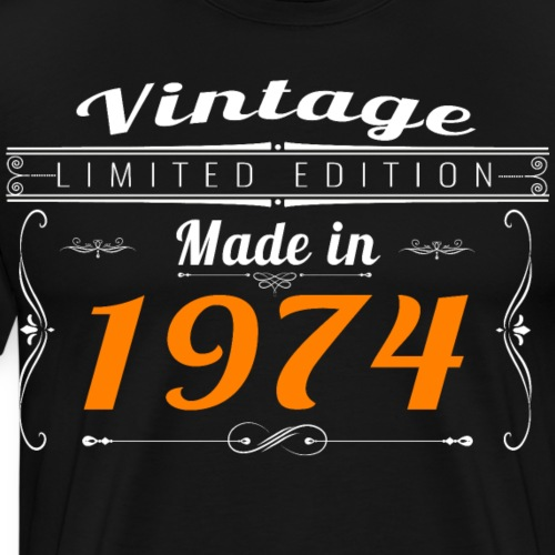 Vintage made in 1974 - T-shirt Premium Homme