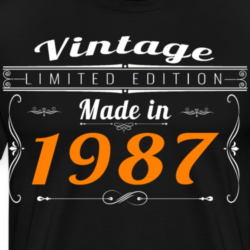 Vintage made in 1987 - T-shirt Premium Homme