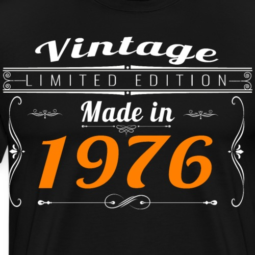 Vintage made in 1976 - T-shirt Premium Homme