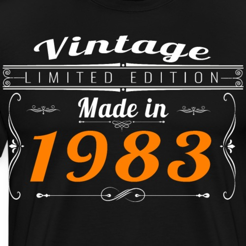 Vintage made in 1983 - T-shirt Premium Homme