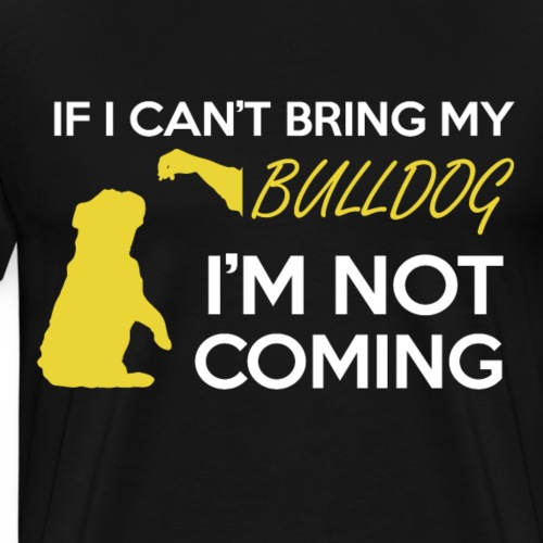 Bulldoggenliebe - Männer Premium T-Shirt