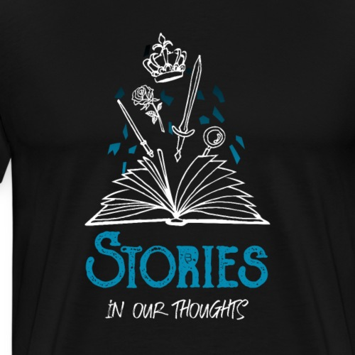 Stories In Our Thoughts - White