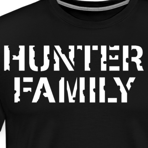 The Hunter Family Original Logo - Men's Premium T-Shirt
