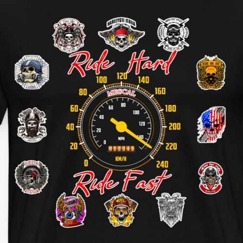 Ride Hard Ride Fast - Collezione 3 - Maglietta Premium da uomo
