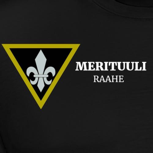 Merituuli, logo tekstillä - Miesten premium t-paita