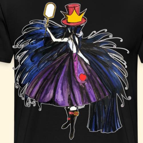 Qui est le Chapelier Fou ? La Méchante Reine ! - T-shirt Premium Homme