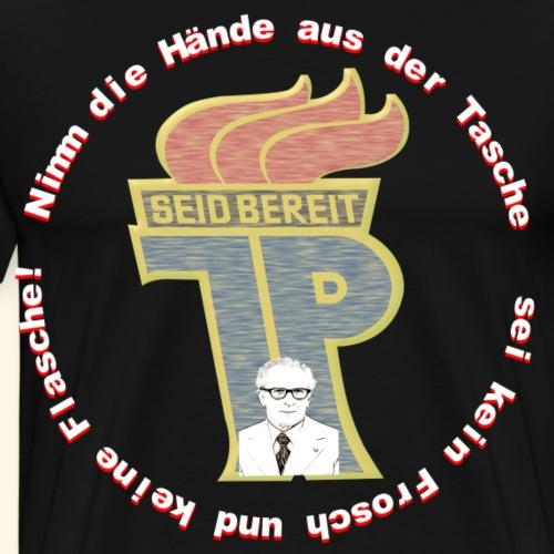 Pionier DDR Honecker Shirt Geschenk Idee - Männer Premium T-Shirt