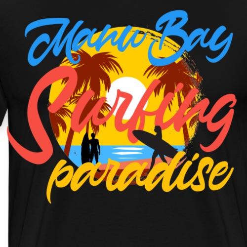 Manu bay - Mannen Premium T-shirt